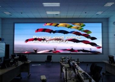 Giant P4  Front Service LED Display Wall Mounted Indoor Iron Fixed Installation