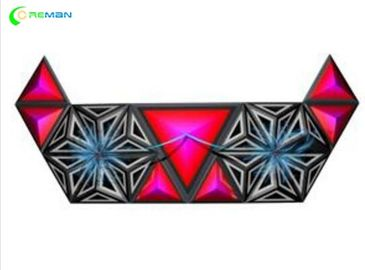 Triangle P5 Stage Led Display Irregular Club Decoration P4 P5 P6  SGS FCC Approved