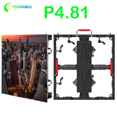 P4.81 SMD2121 1500cd/m2 Stage Led Video Screen 500x500mm
